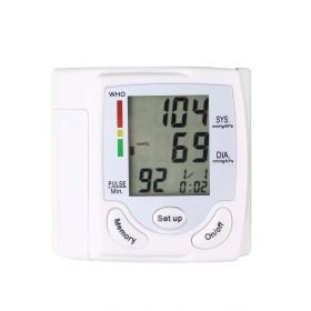 デジタル手首式血圧計 手首血圧カフモニター 大画面 血圧モニター 手首血圧計 日常 家庭用 使いやすい血圧計 携帯便利