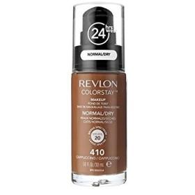 レブロンの基礎通常の乾燥肌のカプチーノ x4 - Revlon Colorstay Foundation Normal Dry Skin Cappuccino (Pack of 4) [並行輸入品]