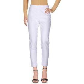 《期間限定セール開催中!》PESERICO SIGN レディース パンツ ホワイト 52 コットン 99% / ポリウレタン 1%