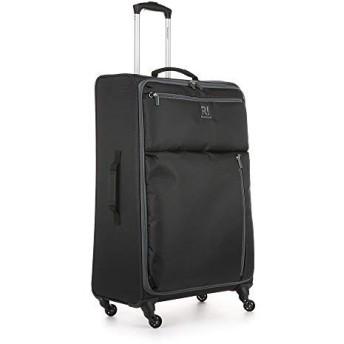 ヨハネの黙示録無重量B2Aラージスーツケースブラックグレー、サイズ:77 x 46 x 31
