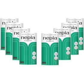 【ケース販売】 ネピア プレミアムソフト トイレットロール 12ロール ダブル (2枚重ね 30m巻) 石けんの香り×8個