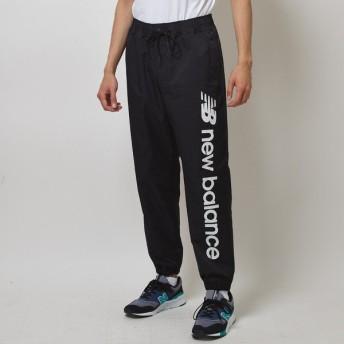 (送料無料)New Balance(ニューバランス)メンズスポーツウェア ロングパンツ NBウィンドブレーカーパンツ JMPL9505BK メンズ ブラック