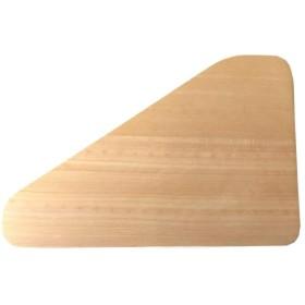 市原木工所 日本製 樹婦人 三角まな板 48×33×2.8cm 31439
