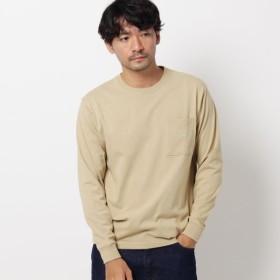 [マルイ] 【WEB限定】USAコットンクルーネック胸ポケットロングTシャツ/ザ ショップ ティーケー(メンズ)(THE SHOP TK Mens)
