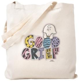 CafePress–Charlie Brown Good Grief–ナチュラルキャンバストートバッグ、布ショッピングバッグ S ベージュ 1587434217DECC2