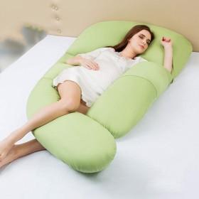 看護 マタニティ抱き枕,完全なボディ 妊娠の枕 U 字型 多機能 マタニティ 痛みを軽減 クッション サポート-C 75120175cm(304769inch)