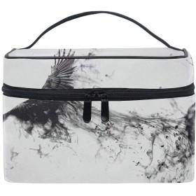 コスメポーチ 化粧品収納バッグ 洗面用具 おしゃれアート写真加工モノクロ