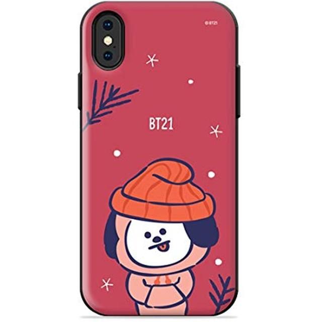 【BT21正規品】BT21 OPEN CARD CASE CHRISTMAS EDITION / BT21 オープンカードケース クリスマススペシャルエディション/(CHIMMY) (チミーJIMIN)iphone スマホンケース iphone アイフォンケース BT21公式グッズ スマホケース スマートフォン スマホカバー ケース ハードケース BTS (iPhone XR)