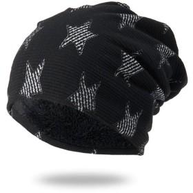 暖かい帽子ニット帽スポーツ韓国のファッションプラスベルベット冬ウールキャップ暖かいニット帽プルオーバーキャップ