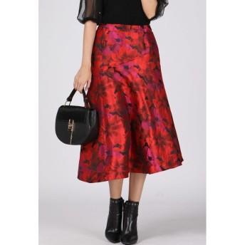 VICKY / フラワージャガードスカート