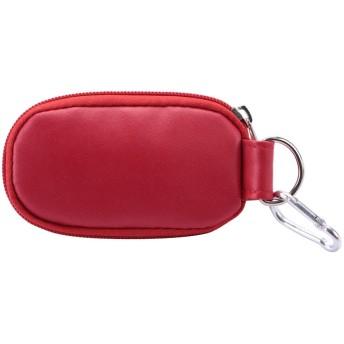オイルボトルバッグ 10スロットプロフェッショナル 携帯用エッセンシャ オーガナイザーホルダーコンテナ携帯用アロマセラピー収納アクセサリー用 旅行(Bag-Red)
