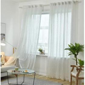 WPKIRA 純粋なカラースカーテン透けない UVカット薄手 のカーテン おしゃれ 自然に 換気 半遮光 窓 部屋 寝室 マルチカラーソリッドチュールカーテンドア 子どものカーテン 洗濯可能 1組2枚入片幅 幅150cm×丈200cm(2枚入)