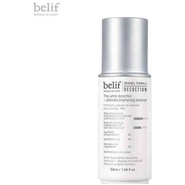 belif The White Decoction - Ultimate Brightening Essence 50ml [並行輸入品]