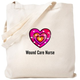 CafePress–Wound Care Nurse–ナチュラルキャンバストートバッグ、布ショッピングバッグ S ベージュ 0918067652DECC2
