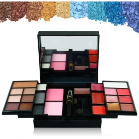 Makeup Set Box 23 Color Make Up Set Eyeshadow Lip Gloss Makeup Kits For Women Cosmetics Maquiagem Professional Complete メイクアップセットボックス23色メイクアップセットアイシャドーリップグロスメイクアップキット