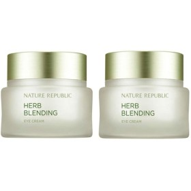 ネイチャーリパブリックハーブ・ブレンディングクリーム50mlx 2本セット韓国コスメ、Nature Republic Herb Blending Cream 50ml x 2ea Set Korean Cosmetics [並行輸入品]