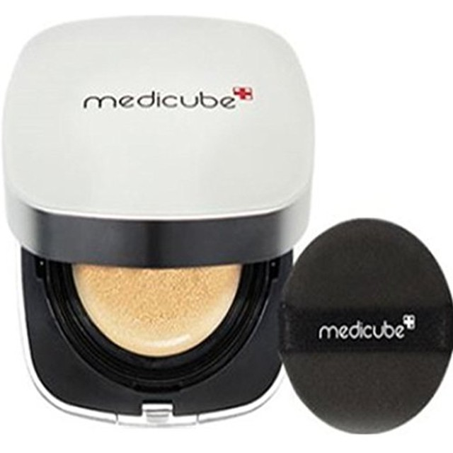 [Medicube メディキューブ] レッドクッション - シェード21号ライトベージュ / Red Cushion - Shade 21 Light Beige [並行輸入品]