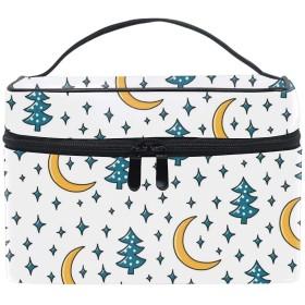 ムーンツリーコスメバッグ 化粧ポーチ メイクバッグ ギフトプレゼント用 携帯可能
