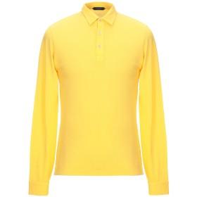 《期間限定セール開催中!》ZANONE メンズ ポロシャツ イエロー M コットン 100%