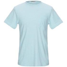 《セール開催中》RVLT/REVOLUTION メンズ T シャツ スカイブルー S コットン 50% / ポリエステル 50%