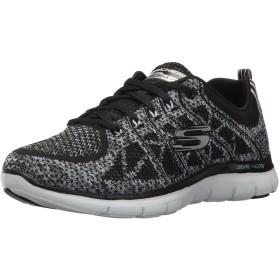 Skechers New Gem [12623BKW] Women Running Shoes Black/White-060