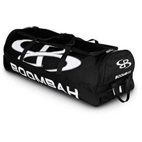 (ブームバー) Boombah Bruteシリーズ キャスター付きバットケース 野球・ソフトボール用 35×15×12–1/2インチ 49色展開 4本のバットと用具を収納可能 ブラック BBR B/B