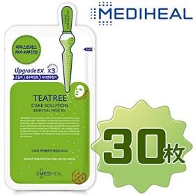 【正規輸入品】Mediheal メディヒール ティーツリーケアソリューション・エッセンシャル・マスクパック10枚入り3箱