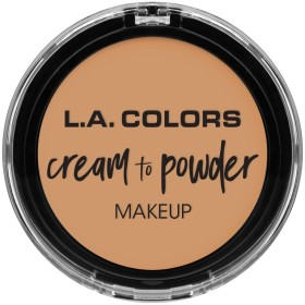 L.A. COLORS Cream To Powder Foundation - Honey Beige (並行輸入品)