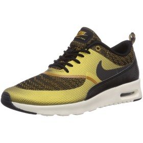 Nike WMNS Air Max Thea KJCRD [718646-700] Women Casual Shoes Bronzine/Black-Sail