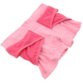 Baoblaze 眠るヒップパンツ 骨盤矯正ショーツ ボディシェイパー 下着 ピンク 全2サイズ - M, ピンク