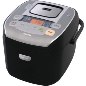 アイリスオーヤマ 圧力IH炊飯器 一升 10合 圧力IH式 31銘柄炊き分け機能 極厚火釜 大火力 玄米 ブラック RC-PA10-B