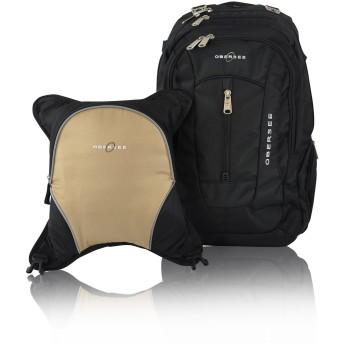 Obersee Bern おむつバッグ バックパック 取り外し可能なクーラー付き ブラウン O3BBPCA029