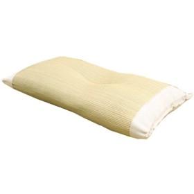 イケヒコ 枕 い草 寝具 医師との共同開発 い草枕 『アスク 低反発枕 箱付』 約50×30cm(中材:低反発ウレタンチップ)