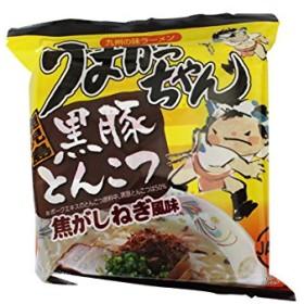うまかっちゃん 鹿児島黒豚とんこつ 1食 九州の味ラーメン 即席とんこつラーメン