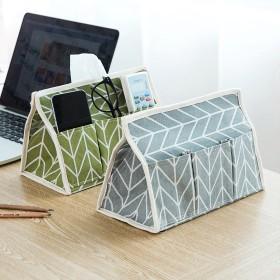 多機能ティッシュボックス ストライプ おしゃれ 便利 使いやすい卓上収納 ケース 整理ボックス リビング 寝室 ホーム 収納 インテリア 雑貨 プレゼント