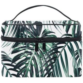 化粧ポーチ トラベルポーチ ドレッサー 化粧品 収納 雑貨 小物入れ 女性 超軽量熱帯の葉