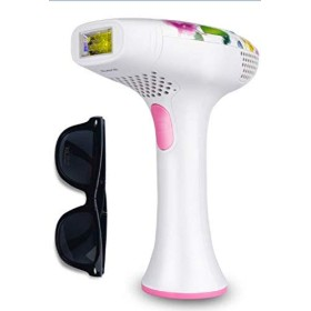 DEESS IPL Hair Removal Device GP585 Light-based Permanent Hair Removal 350000 Times Light Pulses Hair Removal System Home Use with Built-in Skin analyzer Corded DesignGift: GogglesPink. [並行輸入品]