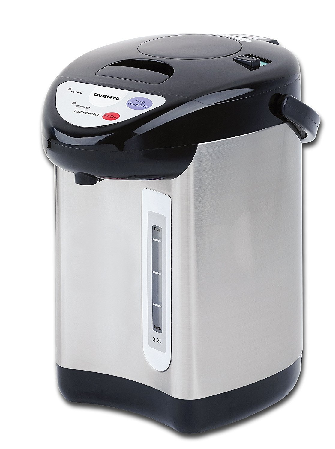 KWS WB-30 19.5L// 83Cups Commercial Heat Insulated Water Boiler and Warmer Stainless Steel Blue by KitchenWare Station