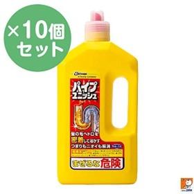 【10個セット】ジョンソン パイプユニッシュ 800g ジェルタイプの塩素系洗浄剤(パイプ用) アルカリ性 ×10点セット (4901609002449)