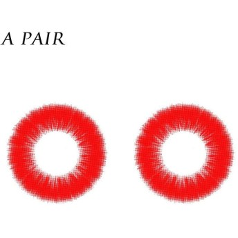 カラコン 1年 ワンペア カラーコンタクトレンズ 大直径14.5mm 度数-000 度なし コスプレなどに適用 4色選べる junexi