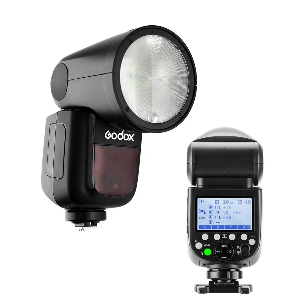 [免運] Godox 神牛 V1 Kit Olympus 圓燈頭閃光燈組 可加購電池 [相機專家] [開年公司貨]
