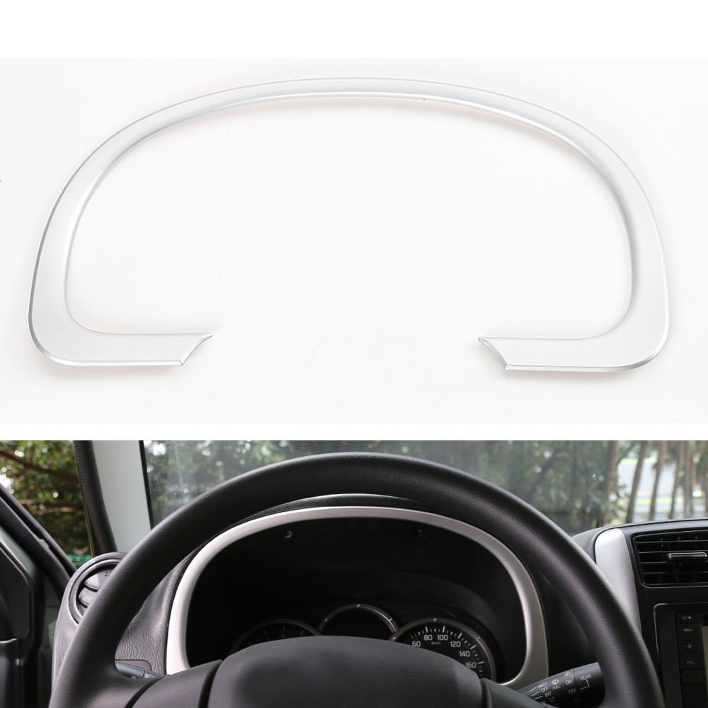 For 2018 Chevrolet Equinox Matte ABS Chrome Central console Gear box cover trim