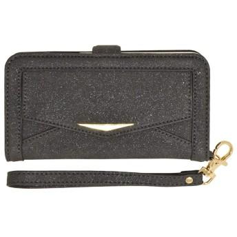 ラスタバナナ iPhone XR ケース/カバー 手帳型 ポケット付き ブラック アイフォン スマホケース 4349IP861BO