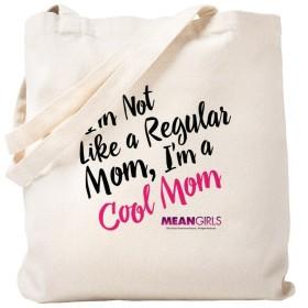 CafePress–Mean Girls–Cool Mom–ナチュラルキャンバストートバッグ、布ショッピングバッグ S ベージュ 1662731016DECC2