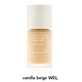 [トニーモリー] TONY MOLY [ペイストーンスキンティントSPF30 PA++] (Facetone Skin Tint (SPF30 PA++)) (No.03 : W01.Vanila Beige) [並行輸入品]