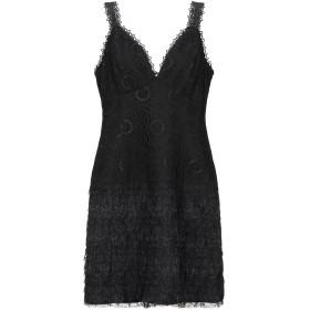 《セール開催中》ODI ET AMO レディース ミニワンピース&ドレス ブラック XS ナイロン 90% / ポリウレタン 10%