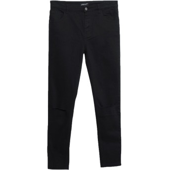 《セール開催中》MOMOKROM レディース パンツ ブラック 12 コットン 98% / ポリウレタン 2%