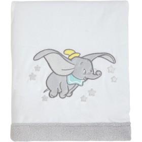 Dream Big Coral Fleece Baby Blanket