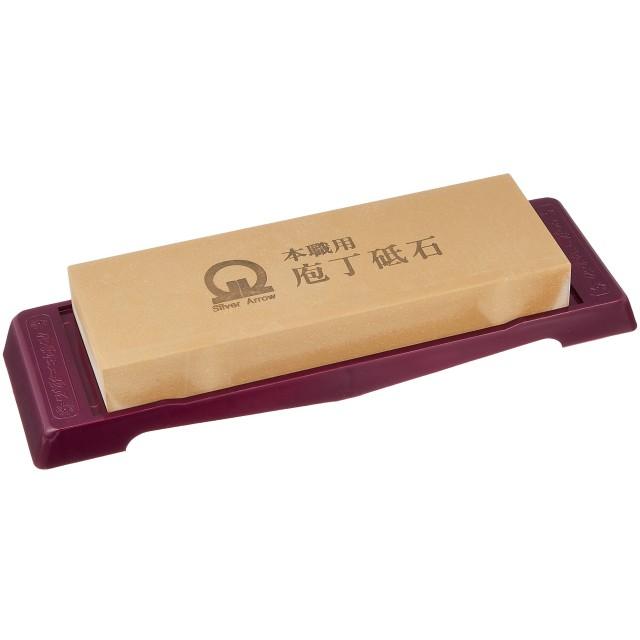 遠藤商事 業務用 砥石 仕上 台付(No.4000) アルミナ 日本製 ATI03