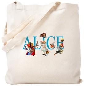 CafePress–Alice & Friends in Wonderland–ナチュラルキャンバストートバッグ、布ショッピングバッグ S ベージュ 0255869740DECC2